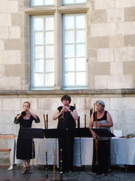 Concert Renaissance Concert des Trois Chalemistes