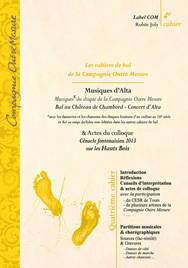 Partition Renaissance Bal Musiques d'Alta
