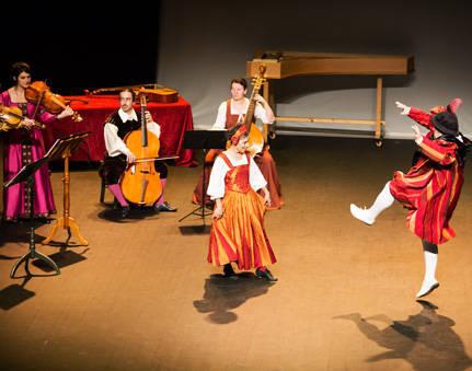Spectacle Renaissance Terpsichore Concert Ballé