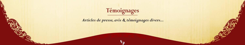 Compagnie Renaissance Outre Mesure - Témoignages
