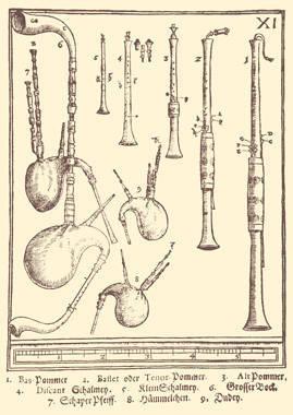 musique renaissance conférence hautbois illustration