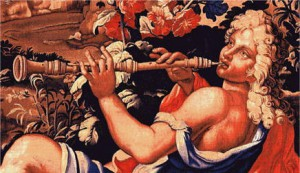 renaissance musique hautbois illustration