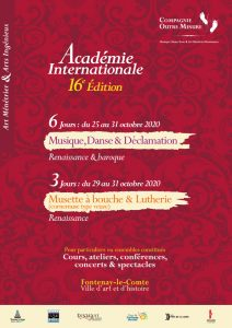 stage renaissance académie internationale 16e édition image a